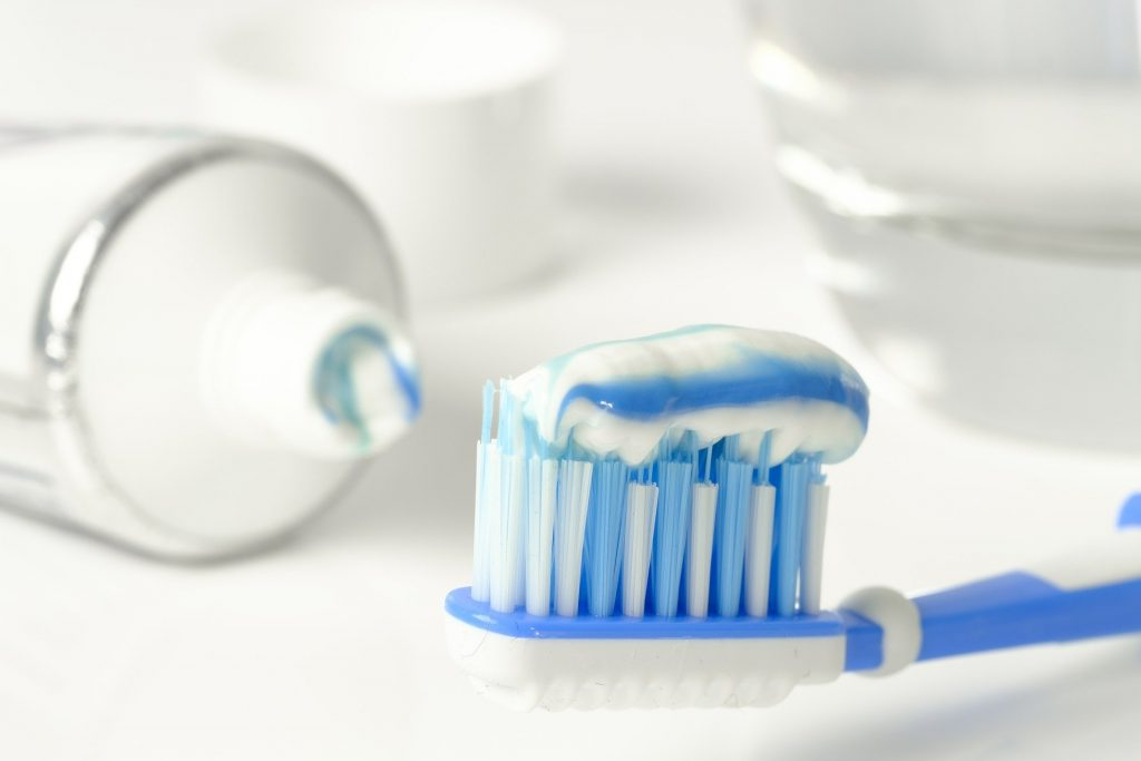 The most popular way to brush teeth